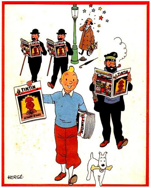 Le Journal de Tintin 4 années complètes  1959 1960 1961 1962