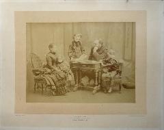 Pirou - Grand Portrait Famille c1886-89