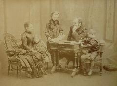 Pirou - Grand Portrait Famille c1886-89 (3)