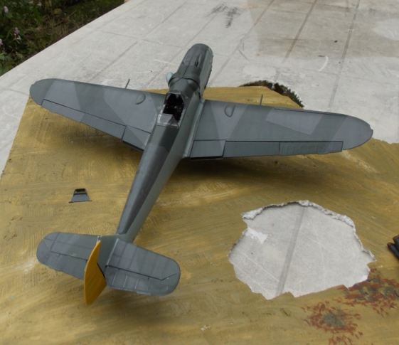 Projet Gunther Rall, Me BF 109 G6 et Mercedes 540 K + figurines au 1/24 - Page 2 13100305350616079111607689
