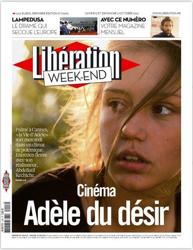 Libération Samedi 5 et dimanche 6 Octobre 2013