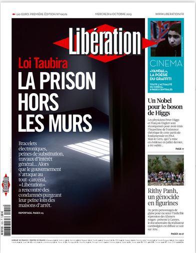 Libération Mercredi 9 Octobre 2013