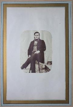 Comte Manoir 01 - Roger Comte Du Manoir Portrait N°1 c1853 (0)
