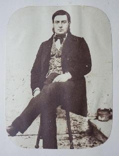 Comte Manoir 01 - Roger Comte Du Manoir Portrait N°1 c1853 (2)