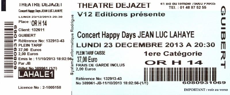"""Les concerts et nouveaux albums de 2013 (par """"FG"""") 13101107394316724011630928"""