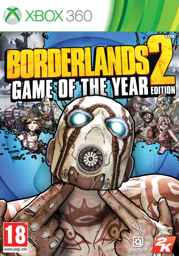 Poster for Borderlands 2