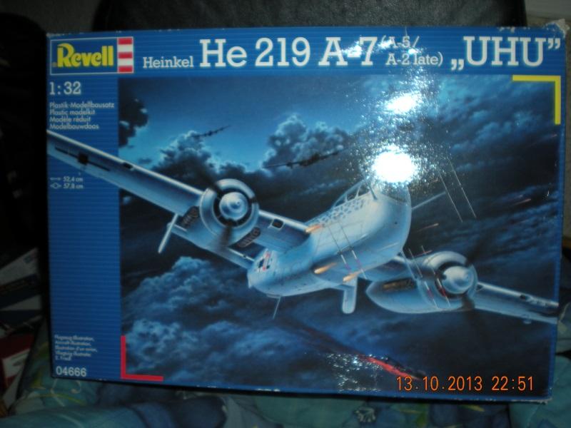 Heinkel He 219-A revell 1310131111349761711637639