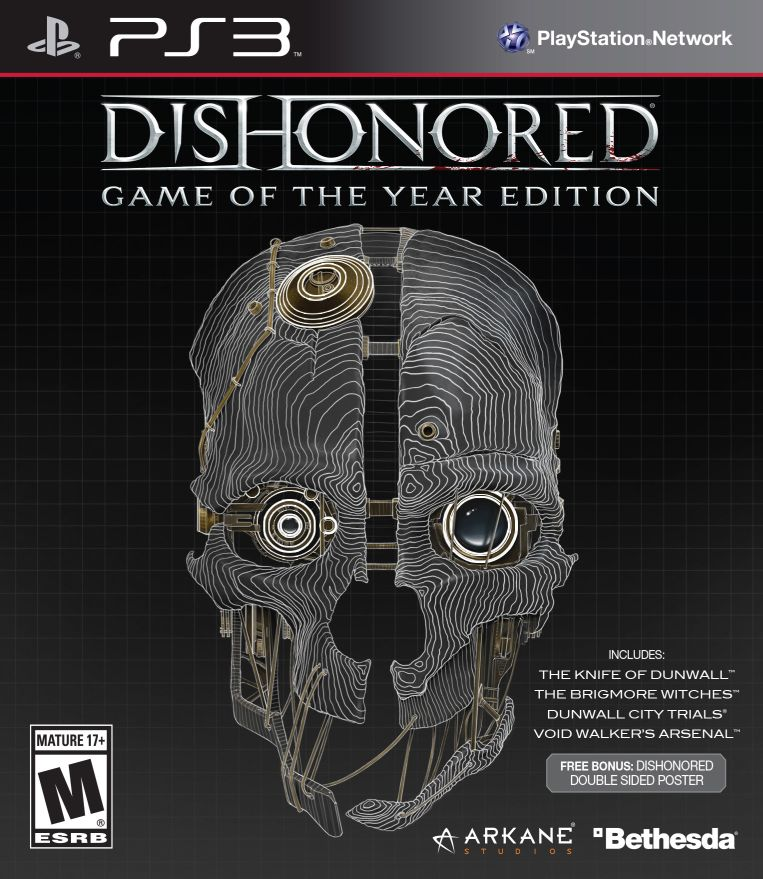 Poster for Dishonored Game of the Year Edition
