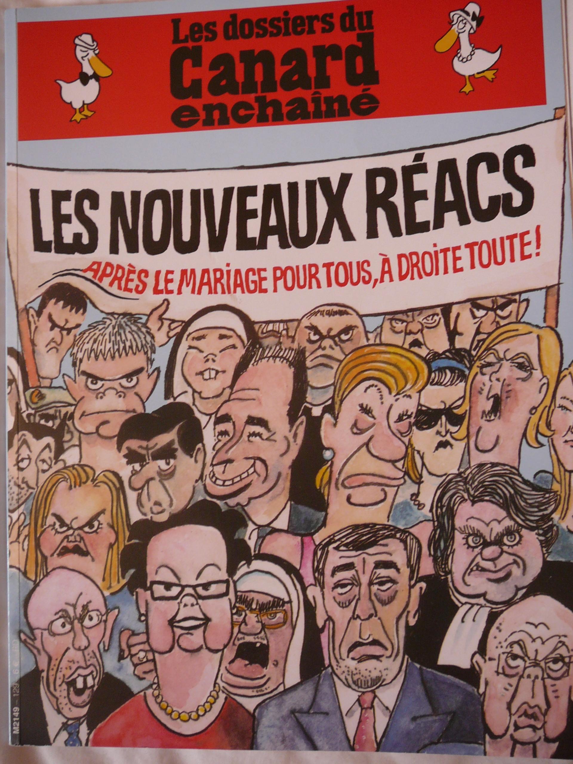 """Les Dossiers du """"Canard enchaîné"""" - Les Nouveaux Réacs"""
