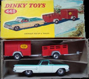 Chevrolet El Camino et remorques Dinky-Toys