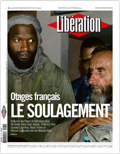 Libération Mercredi 30 Octobre 2013