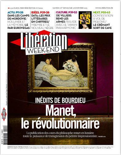 Libération Samedi 2 et Dimanche 3 Novembre 2013