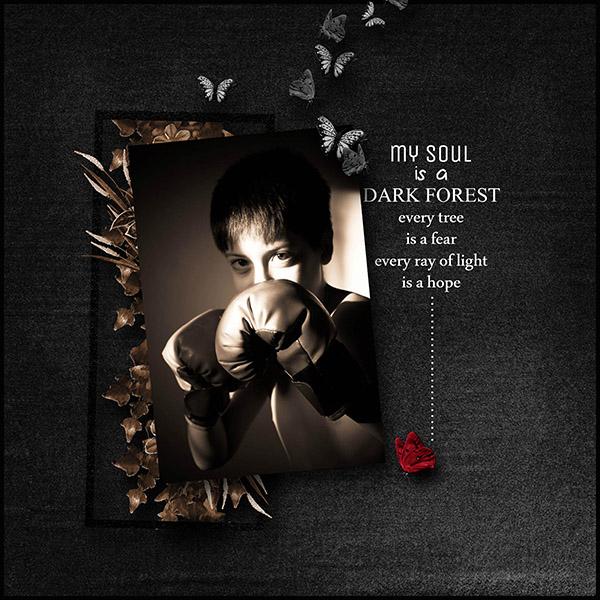 dark side kit scrap simplette page sakura