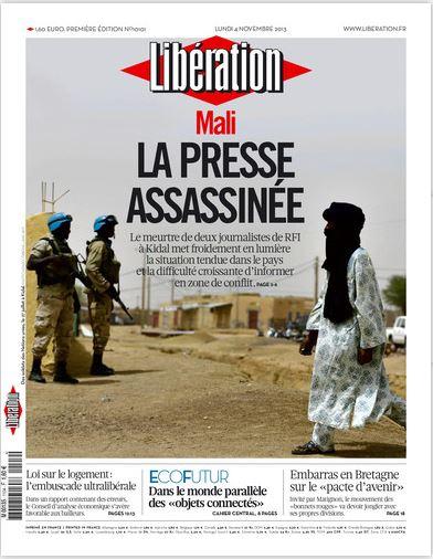 Libération Lundi 4 Novembre 2013