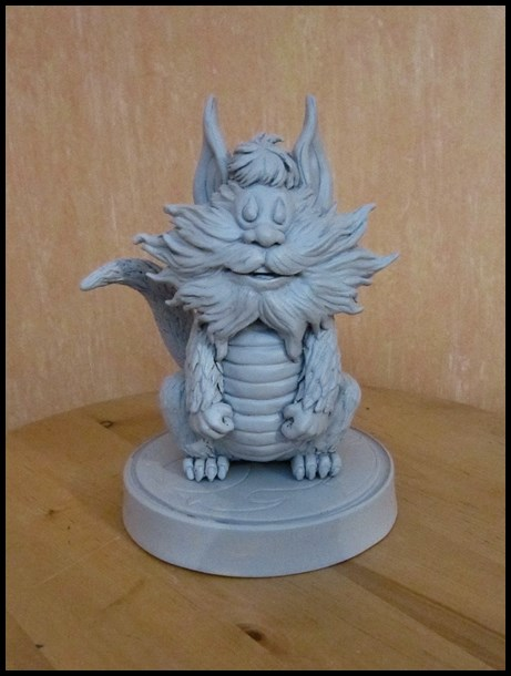 Thundercats Snarf statue by nimajneb 13110408363916083611703912