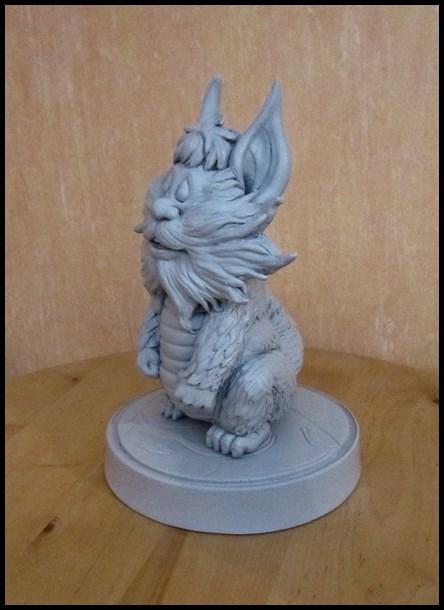 Thundercats Snarf statue by nimajneb 13110408363916083611703915