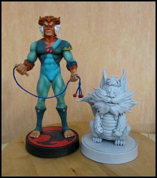 Thundercats Snarf statue by nimajneb 13110408363916083611703917