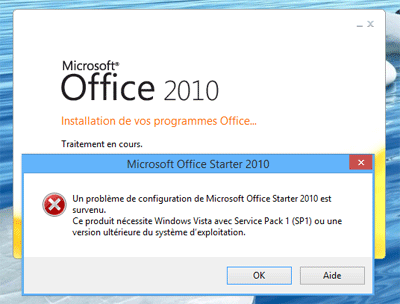 Tuto installer microsoft office starter 2010 sur windows - Installer office 2010 sur windows 8 1 ...
