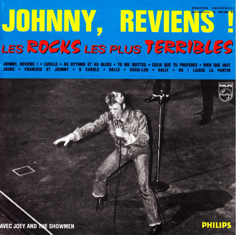"JOEY & THE SHOWMEN, le groupe des ""ROCKS LES PLUS TERRIBLES"" (1964) de JOHNNY HALLYDAY 13110811171816724011714921"
