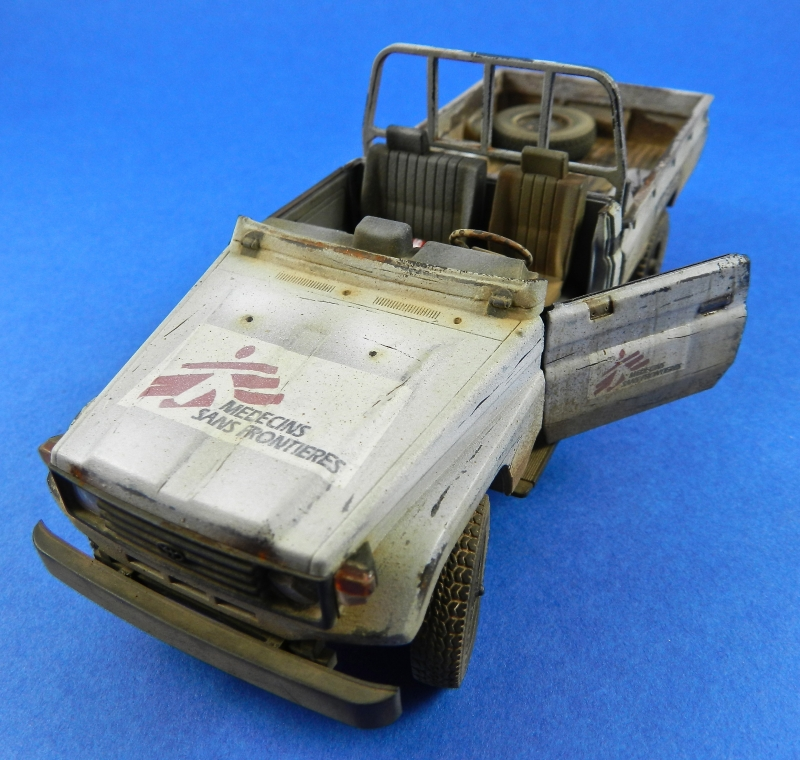 Pick up w zu-23-2 ( 1/35 Meng ) 13110812512315063811712242