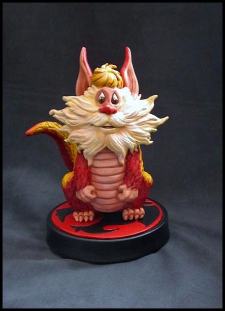 Thundercats Snarf statue by nimajneb 13110905224516083611716508