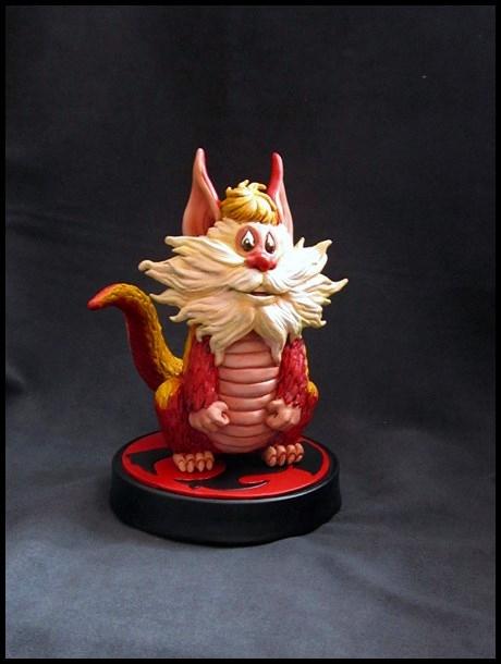 Thundercats Snarf statue by nimajneb 13110905224516083611716509