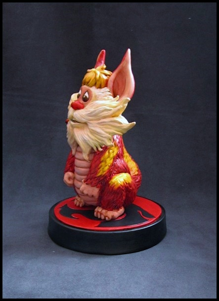 Thundercats Snarf statue by nimajneb 13110905224516083611716512
