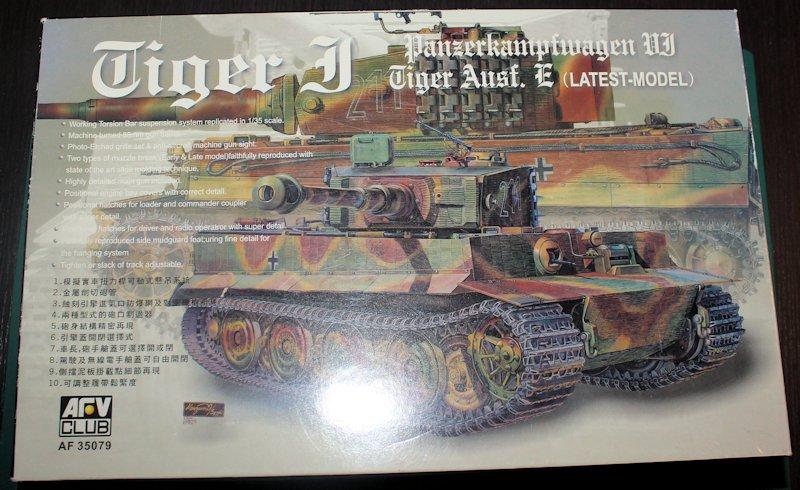 Tigre 1 Aufs E Late Vimoutier - AFV 35079 - 1/35 13111011234914106611721225
