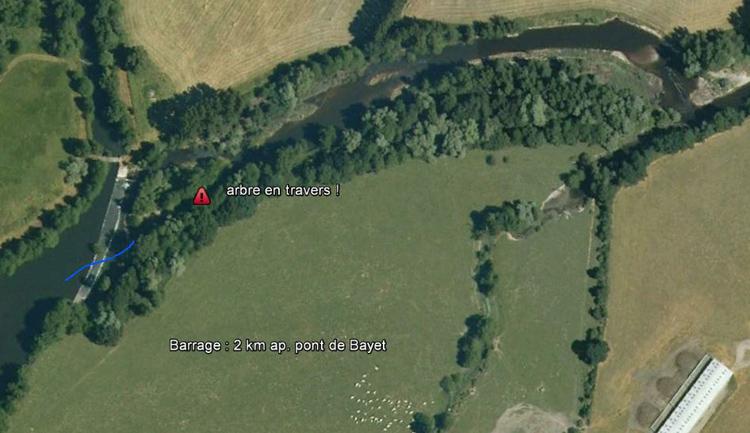 Barrage 2 km ap. Bayet (03)