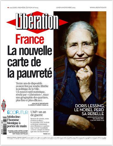 Libération Lundi 18 Novembre 2013