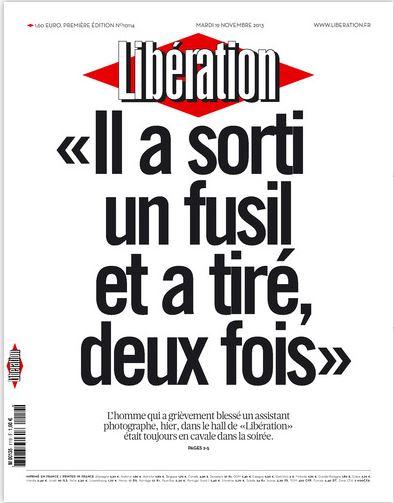 Liberation du Mardi 19 Novembre 2013