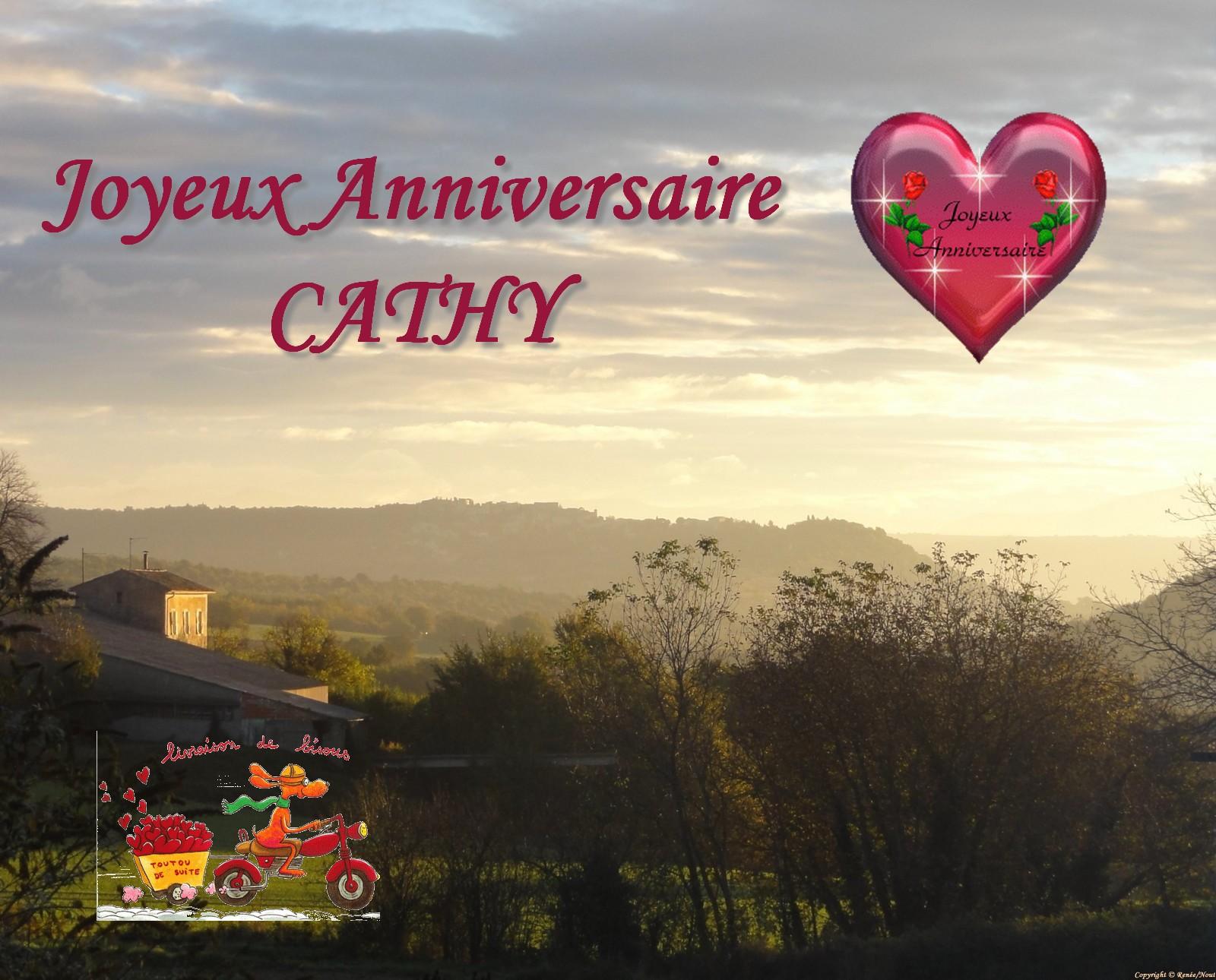 Joyeux Anniversaire Cathy Le Coin Detente