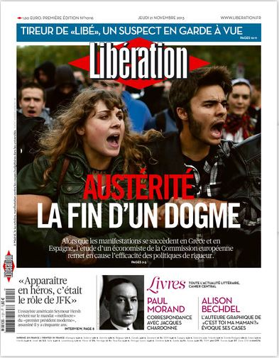 Libération Jeudi 21 Novembre 2013