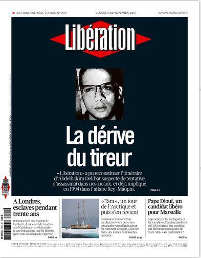 Liberation N°10117 du Vendredi 22 Novembre 2013