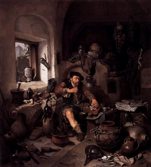 L'Alchimiste sous le regard des peintres 1311220312413850011755998