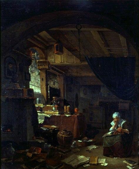 L'Alchimiste sous le regard des peintres 1311220314313850011756001