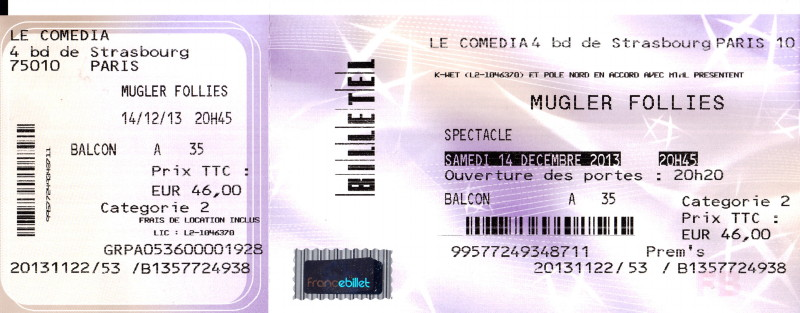 """Les concerts et nouveaux albums de 2013 (par """"FG"""") 13112211243016724011757539"""