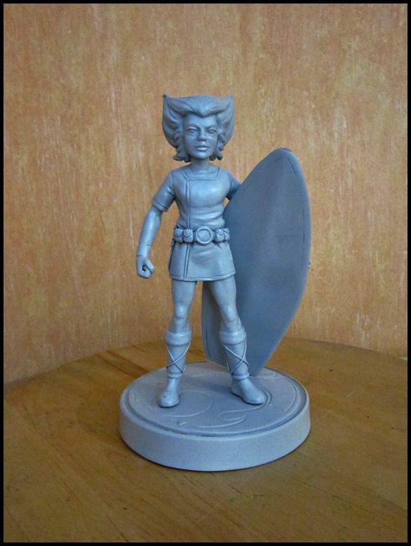 Thundercats wilykat statue  13112407420116083611763367