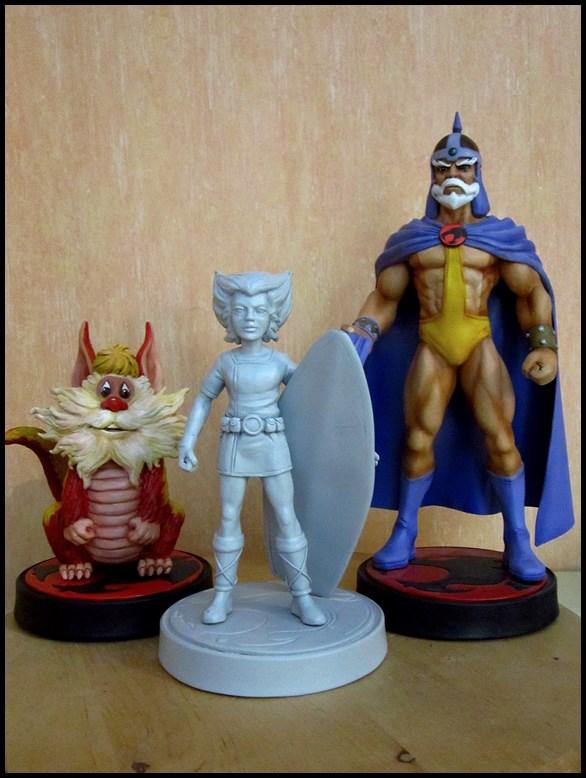 Thundercats wilykat statue  13112407420116083611763368