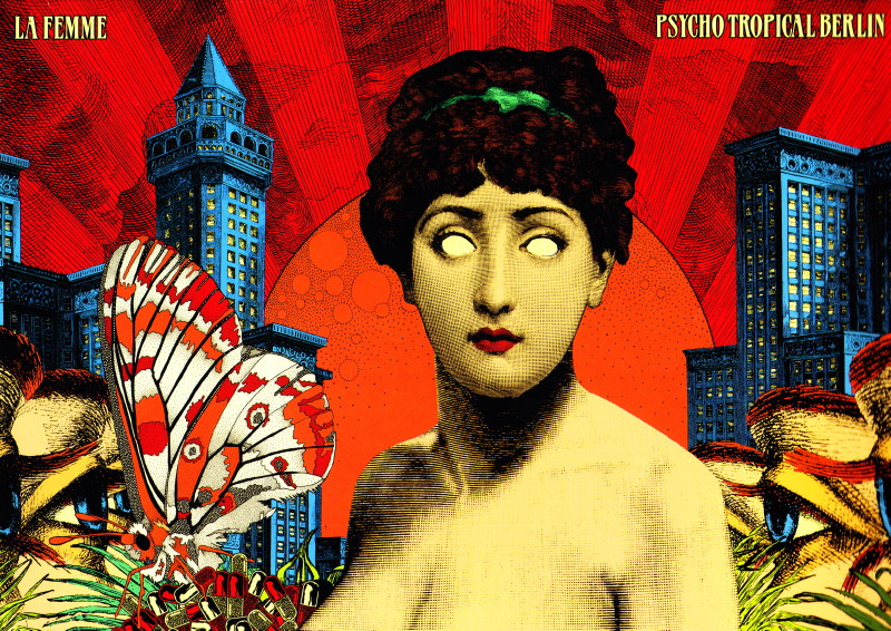 "LA FEMME 14/11/2013 Trianon + chronique CD ""PSYCHO TROPICAL BERLIN"" 13112510460416724011766646"