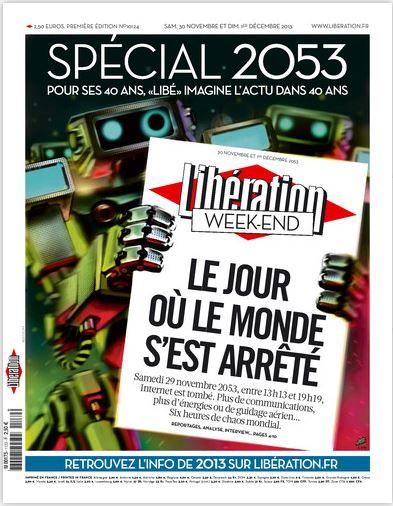 Libération Samedi 30 Novembre et dimanche 1er Décembre 2013