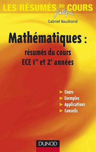 [Multi]  Mathématiques pour les prépas en ECS et ECE 1ère et 2ème année