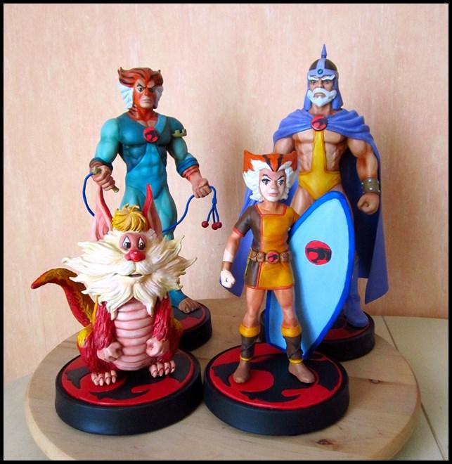 Thundercats wilykat statue  13113006210616083611779803