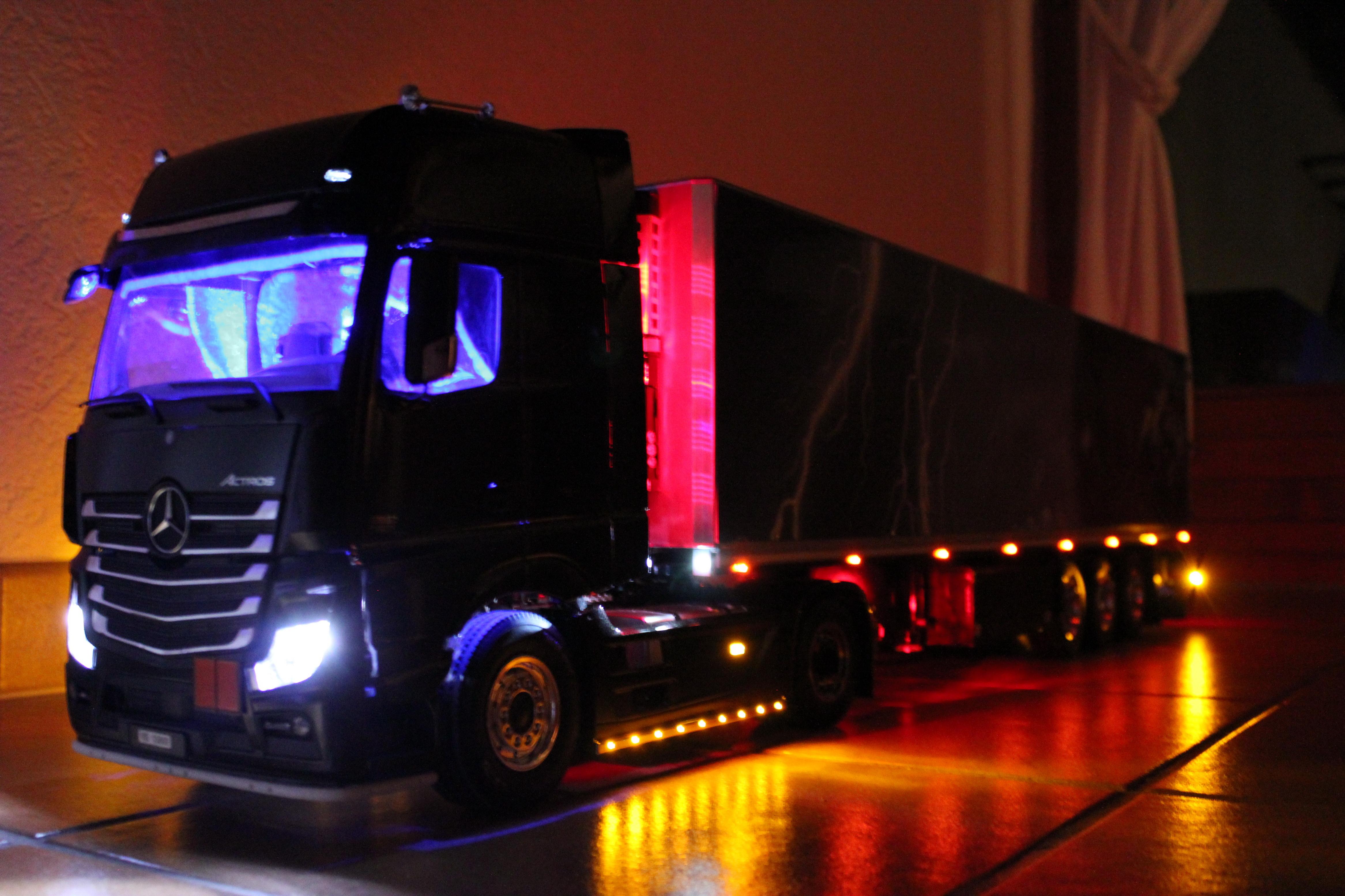 Eclairage Interieur Camion