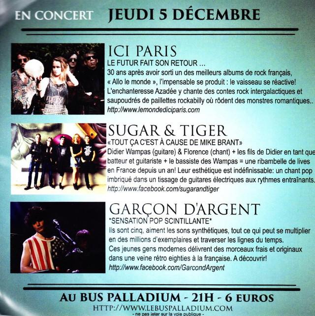 """Les concerts et nouveaux albums de 2013 (par """"FG"""") 13120209045716724011786353"""