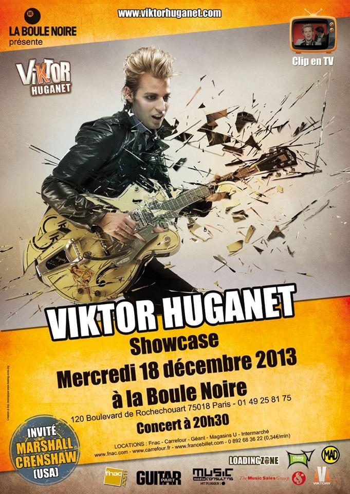 """VIKTOR HUGANET (""""Busca Boogie"""") 18/12/2013 La Boule Noire (Paris) : compte rendu 13120209285816724011786412"""