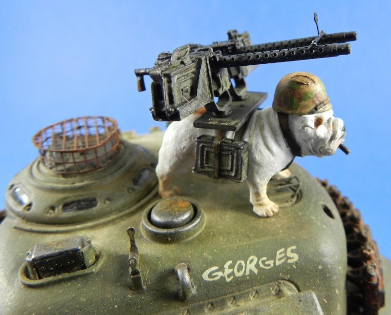 Il faut sauver le soldat Georges ( BLACK DOG, scratch 1/35) 13120411131015063811792469