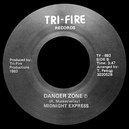 """7"""" Midnight Express - Dial Love (Tri-Fire Records/1983) 13121205243916151011812300"""