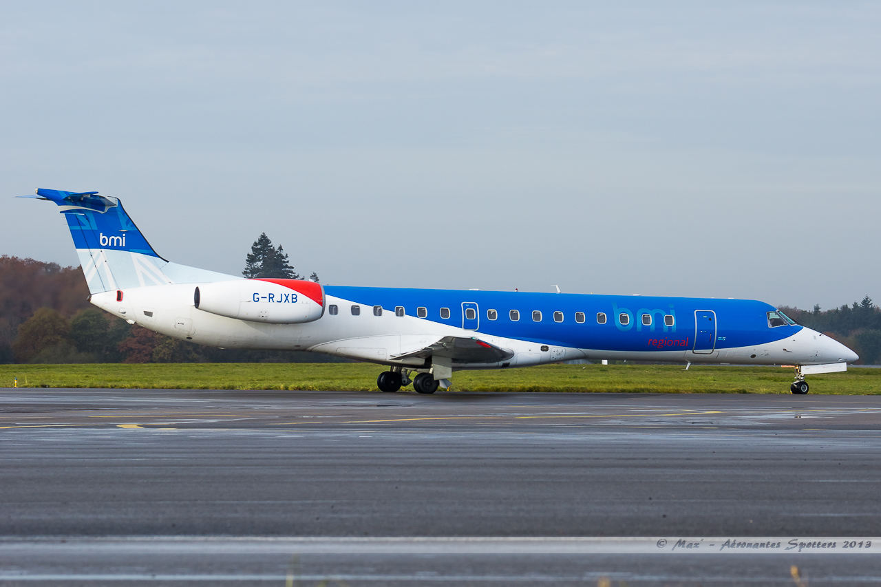 [14/12/2013] Embraer ERJ145 (G-RJXB) BMI Régional 13121401160616756011816382