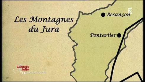 Les Carnets de Julie - Dans les Montagnes du Jura